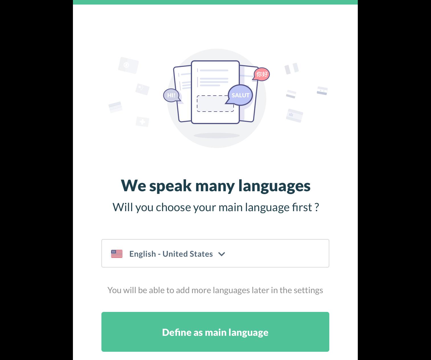 Sample Multi-language Website in Node js - Prismic